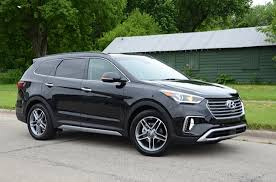 2017 hyundai santa fe road test and review getting better all