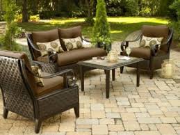 fabulous outdoor wicker furniture sets clearance patio set