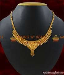 gold necklace designs simple images Nckn187 children necklace gold plated necklace traditional jpg