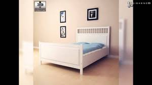 Hemnes Bed Frame by Ikea Hemnes Bed 2 3d Model From Creativecrash Com Youtube