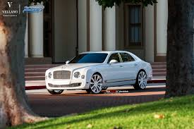 bentley mulsanne 2015 white bentley mulsanne l vellano vm03 24 u2033 monoblock vellano forged