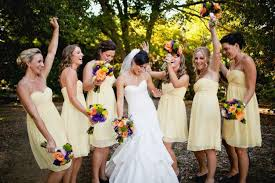 Canary Yellow Dresses For Weddings Perfect Pallet Amelishan Bridal