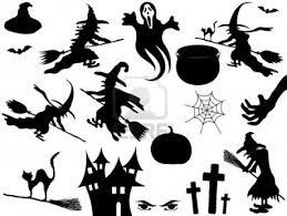 death ahead halloween clipart vector collection of halloween elements royalty free cliparts vectors