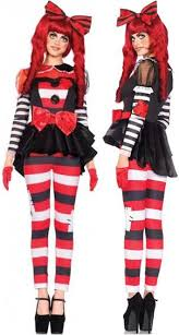 Rag Doll Halloween Costume U003e Women U003e Clowns U0026 Circus Crazy Costumes La Casa Los