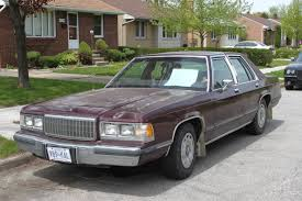 curbside classic 1989 mercury grand marquis ls u2013 panthers run in