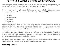 48 free petition templates templatehub
