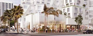frank gehry floor plans frank gehry halves santa monica hotel to meet height restrictions