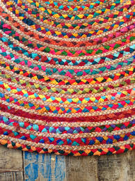 Round Woven Rugs Round Colourful Rugs Roselawnlutheran