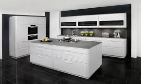 cuisine moderne ilot cuisine moderne grise et blanche waaqeffannaa org design d