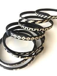 stackable bracelets caña flecha listen stackable bracelets liliana salazar