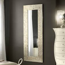 specchi con cornice specchio soggiorno con cornice decorata asia cantori arredaclick