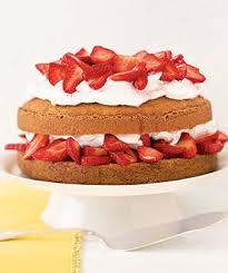 Decorative Ways To Cut Strawberries Strawberry Shortcake Recipe Real Simple