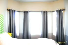 Curtain Rods Target Curtain Rods 353 Heavy Duty Curtain Rods Bay Window Rods With
