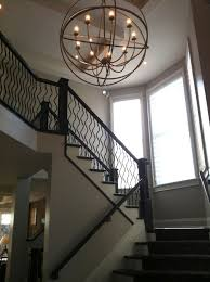 Chandeliers For Foyers Rustic Industrial Large 2 Story Foyer Chandelier Trgn Ad7f69bf2521