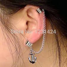 earring with chain to cartilage cheap cartilage chain earrings find cartilage chain