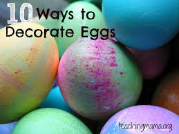 Decorating Easter Boiled Eggs by 10 Ways To Decorate Easter Eggs