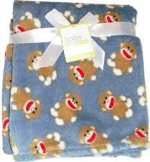 Sock Monkey Bedding Amazon Com Super Soft 30