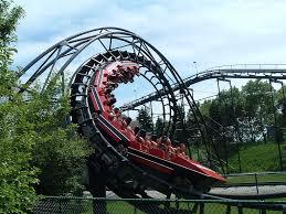 El Toro Roller Coaster Six Flags Six Flags Great America Demon Dscf0578 Jpg Roller Coaster