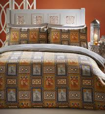 king size duvet cover and 2 pillowcase bed set bedding indian