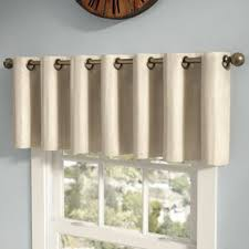 living room valances u0026 kitchen curtains wayfair