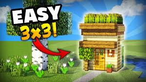 how to make your house green minecraft how to make the smallest house you can make in survival