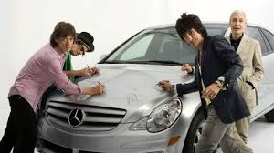 mercedes charity mercedes usa to auction rolling stones r class for charity
