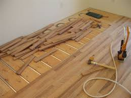 wood floor installation radiant heating if you are building