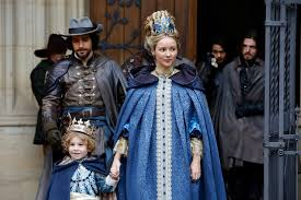 queen anne the musketeers images queen anne and aramis with