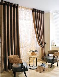 casual cheap patterned simple long curtains ideas