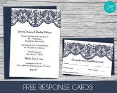 printable lace invitation template free color changes wedding