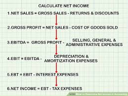 how to determine net income in accounting 11 steps