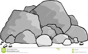 types of rocks clipart 52