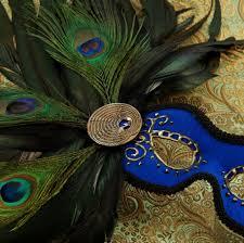 mask peacock blue by effigymasks on deviantart
