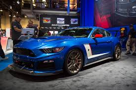 roush mustang stages sema 2014 roush mustang stage 3 trakpak gtspirit