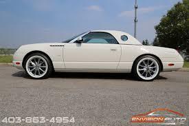 2002 ford thunderbird convertible envision auto calgary