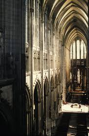 Cologne Cathedral Interior Art 336 Romanesque And Gothic Art