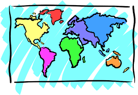 Outline Of World Map by World Map Black And White Outline Clipart Library Clip Art Library