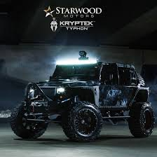 starwood motors creates a one of a kind jeep to see what goes