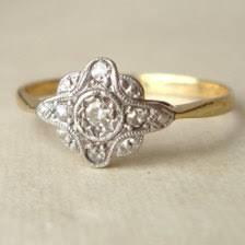 diamond antique u0026 handmade engagement rings etsy shiny