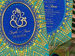 ganesh wedding invitations eastern ganesh wedding invitation by webgrrl dribbble
