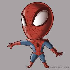 spiderman chibi by albundyland on deviantart
