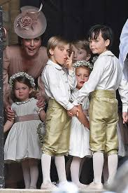cheeky page boy steals the show at pippa middleton u0027s wedding u2014 and
