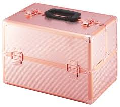 Vanity Case Beauty Studio Buy Large Rose Gold Colour Aluminium Vanity Case At Argos Co Uk