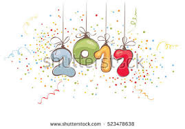 new years streamers new year titles free vector stock graphics images