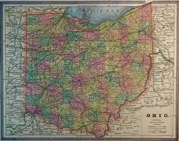 Map Of Ohio by Map Of Ohio 1886