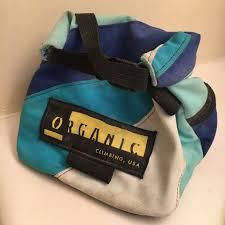 lunch bag chalk bucket organic climbing