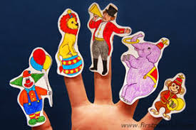 circus puppets circus finger puppets craft kids crafts firstpalette
