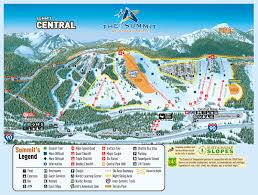 Colorado Ski Map by Trail Maps Summit At Snoqualmie