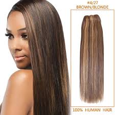inch long straight brazilian remy hair wefts 4 27 medium brown