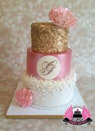 ballerina baby shower cake gold pearls and pink baby shower dorty a jiné